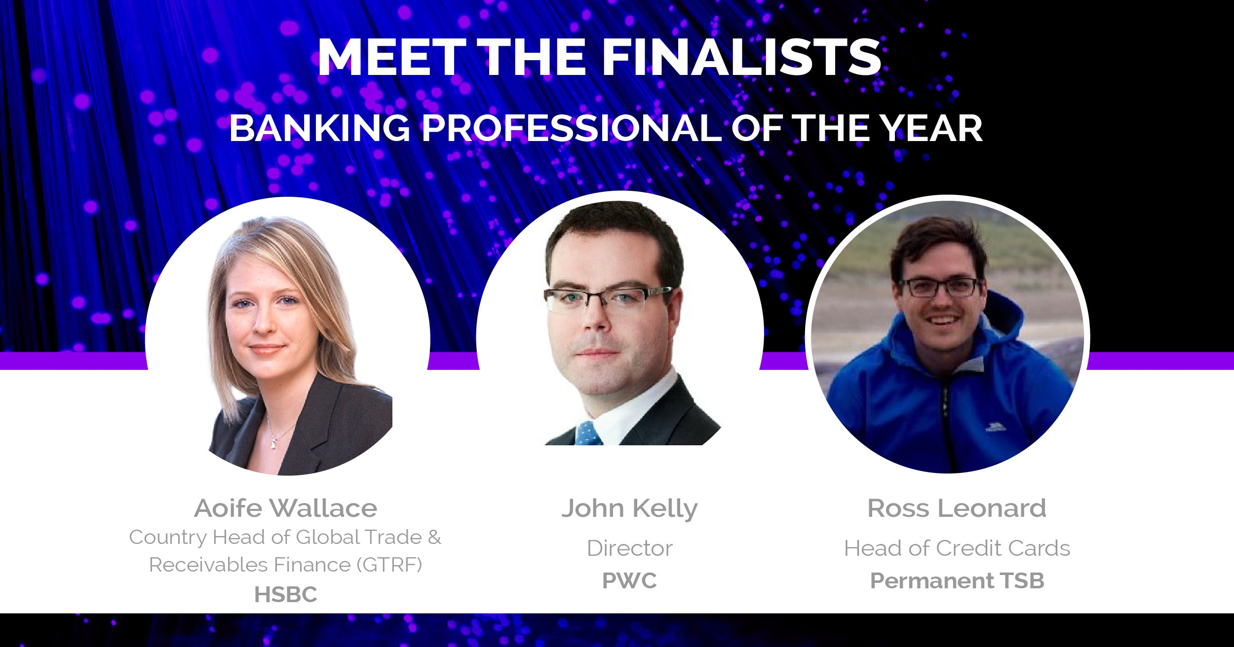 Banking Finalists Early Career Awards 2016