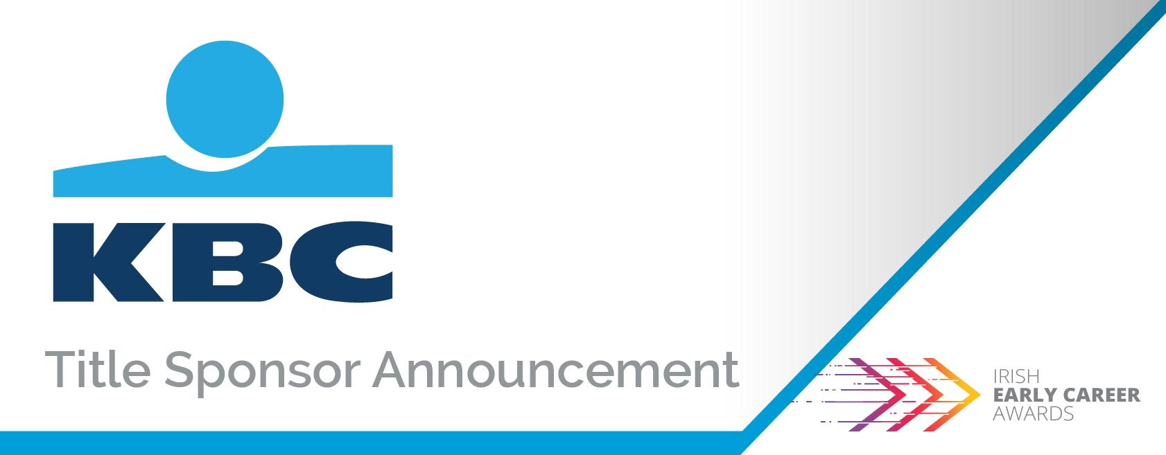 KBC Bank Title Sponsor Irish Early Career Awards