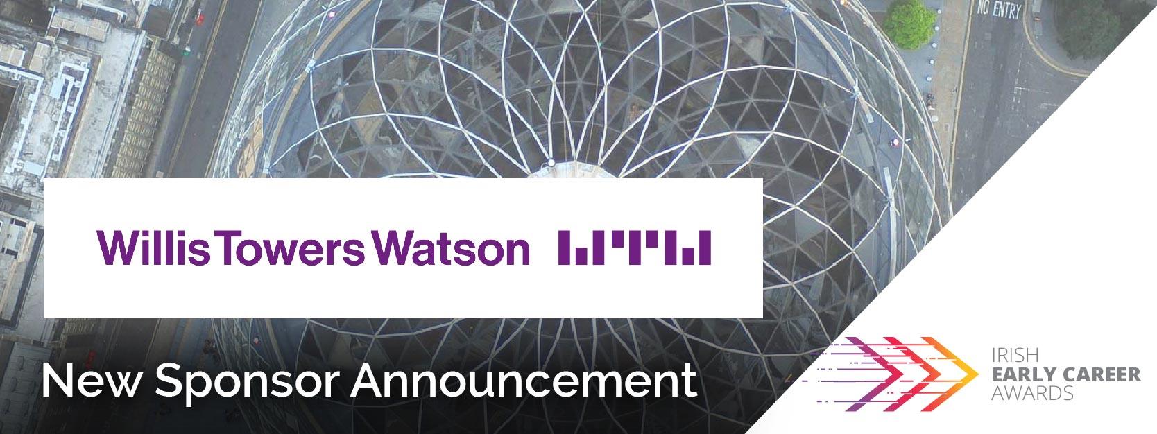 Willis Towers Watson sponsor Irish Early Career Awards