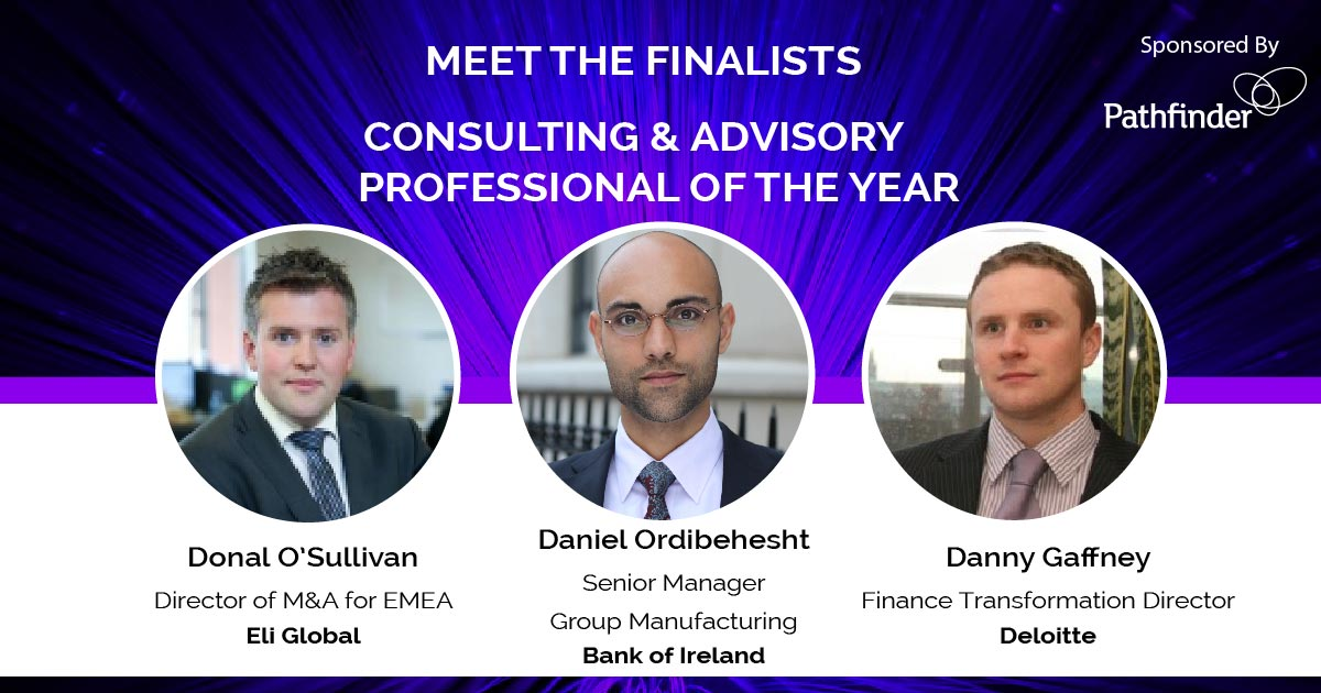 Irish Early Career Awards Finalists Consulting